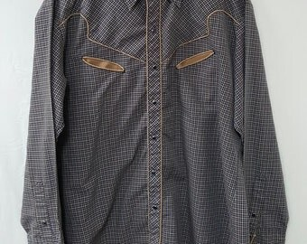 Vintage Kenny Rogers Western Shirt