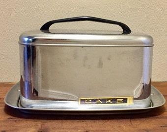 Mid Century Cake Carrier