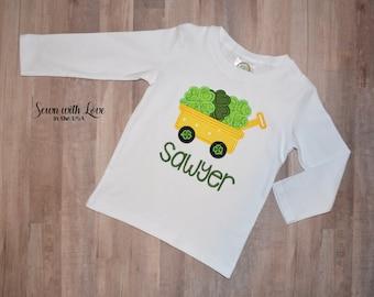 Boy's St. Patrick's Day Shirt | St. Patrick's Day Shirt | St. Patrick's Day | Children's Clothing | Personalized Shirt | Gift  Shamrock