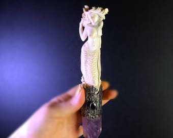 Mermaid Wand * Amethyst
