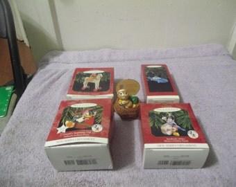 Vintage (5) Keepsake Christmas Ornament