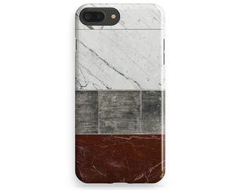 Tile Phone Cover, White Marble iPhone, iPhone 6 Case, iPhone 7 Cover, iPhone 7 Plus Case, iPhone 6 Plus, Red Marble iPhone, iPhone 4-5 Case