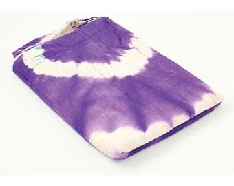 "Handspun Bambara Purple Mudcloth 63""x45"" Fabric African Mali Mud Cloth Handwoven"