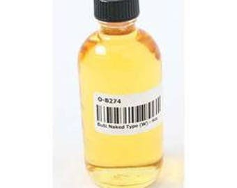 BUTT NAKED - Women's Body Fragrance Oil - Sweet delightful notes of watermelon and cherry - 4 Oz.