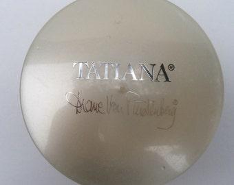 Vintage Tatiana by Diane Von Furstenberg 6oz dusting powder - unopened