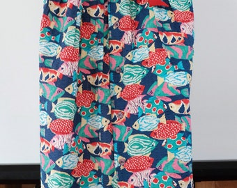 SALE* Vintage fish skirt