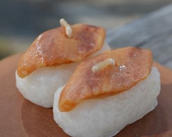 Eel sushi candle