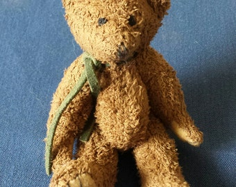 Vintage Jointed Mini Teddy Bear