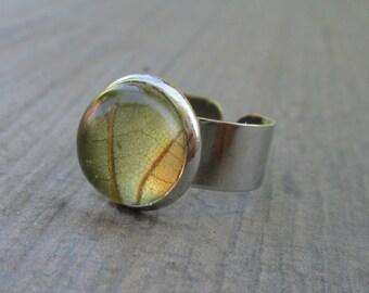 Real leaf ring