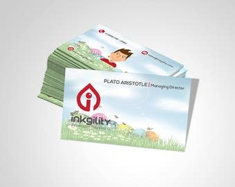 BUSINESS CARD (Animation_003 Template)