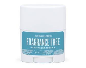 Fragrance-Free Sensitive Skin Travel-Size Stick (.7 oz.) - Schmidt's Natural Deodorant