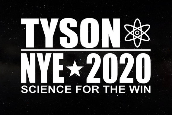 Neil deGrasse Tyson / Bill Nye  2020 Campaign Election President Decal - Car Window Decal Sticker