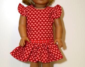 Valentine Doll Dress