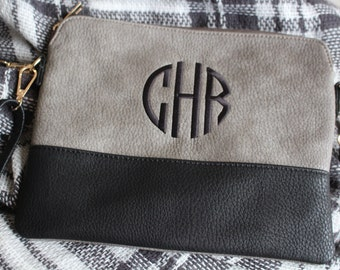 monogram crossbody purse - crossbody purse- personalized clutch- personalized crossbody - small purse with initials - monogram gift