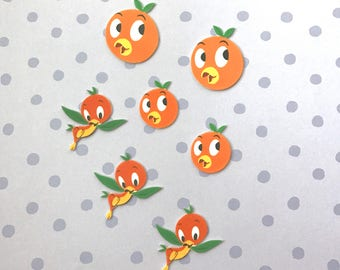 brooch / pin / orange bird / florida