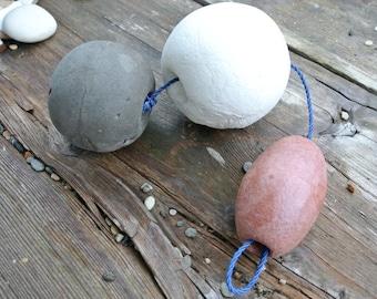 Fishing Net Floats, 3pcs, Beach Finds, Nautical Decor, Floater, Fishing Buoy, Art Supplies, Craft Supplies, Embellishments