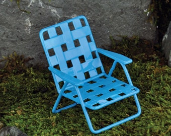 Lawn Chair Blue