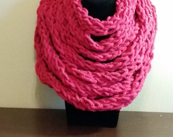 Thick multi-layered scarves
