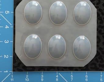 Oval cabochon  molds