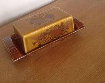 Palissy Butter Dish