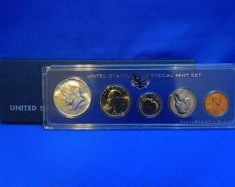 GEM BU 1966 U.S. Special Mint Set SMS in original case & sleeve