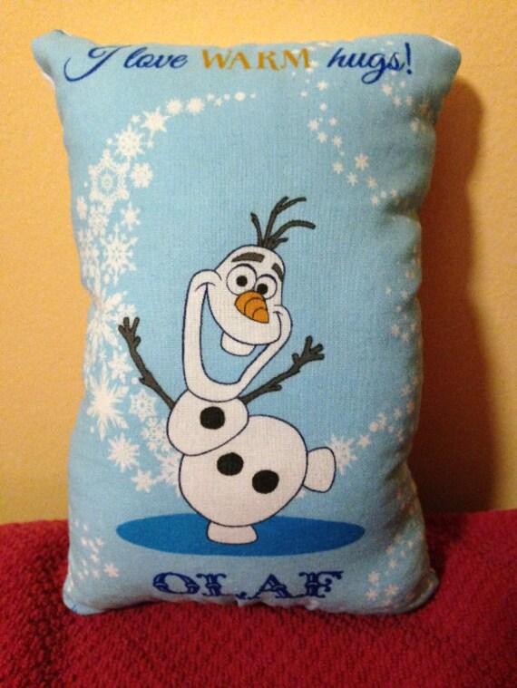 Cute Olaf Pillow : Olaf Small Throw Pillow