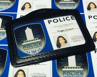 REPLICA Maggie Sawyer NCPD Badge SUPERGIRL