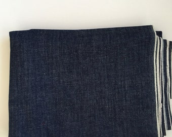 Dark Blue Selvedge Denim- 3.5+ yards