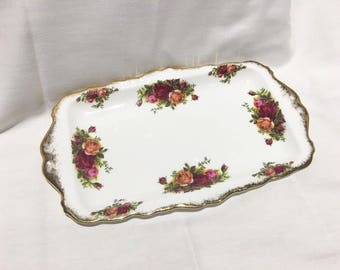 Royal Albert 'Old Country Roses' Sandwich Plate