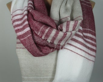 Blanket scarf fall winter Flannel scarf Oversize Cowl scarf Women Fashion Accessories Christmas gifts for her for women Holiday