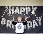 6 Sixth Birthday Shirt + Customized Name + YOU CHOOSE the COLOR! +  Hand Painted + Hipster Vintage Look + 2 two 4 four 3 Three 5