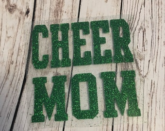 Cheer Mom iron on / Cheer Mom Decal / Cheer mom iron on decal