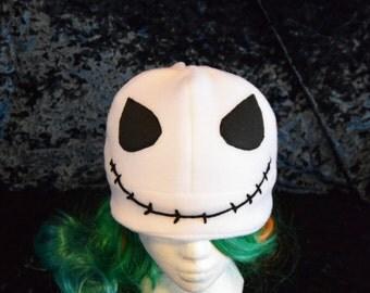 Jack Skellington fandom hat- nightmare before christmas cosplay/costume- adult/teen size- great christmas gift