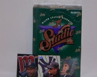 1993 Leaf Studio Baseball Sealed Box