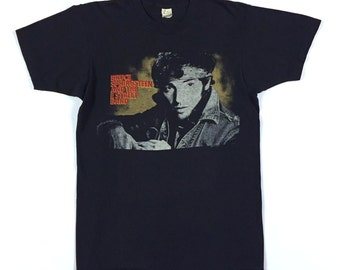 Vintage 80s BRUCE SPRINGSTEEN Born In The USA 1985 concert shirt