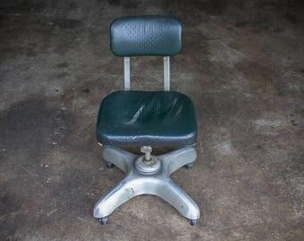 Art Metal Construction Company Shop Chair (c.1960's) | Mid Century MOD Loft Studio Chair | Furniture Decor