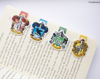Hogwarts House Magnetic Bookmarks Pack of 4