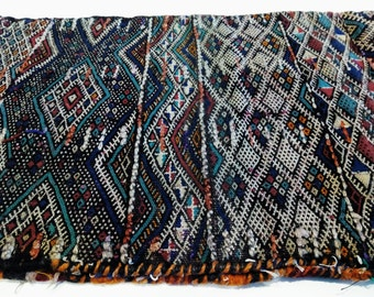Big traditional moroccan kilim cushion cover, berber tribes, Africa