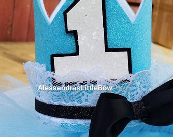 Alice in wonderland birthday crown, tea party crowns, birthday crowns, custom vrowns, birthday headpiece