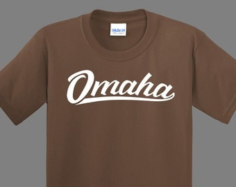 Omaha Shirt (choice of size and color)