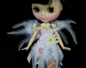 Blythe dress, Blythe clothes, Blythe outfit, Blythe dress Flower Fairy