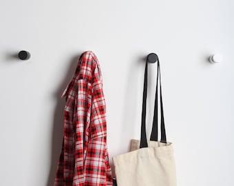 Wooden wall hooks set  / coat rack / towel hooks /  wall decor / clothes storage