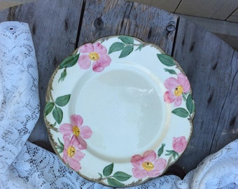 Vintage Franciscan Desert Rose Dinner Plate