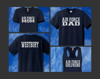 Air Force Jersey Style Family Shirts