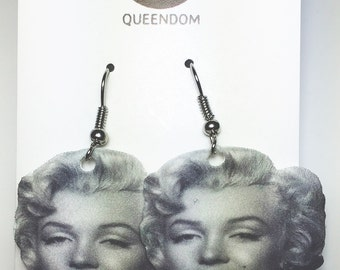 Marilyn Monroe Earrings, Marilyn Monroe Jewelry, Celebrity Jewelry