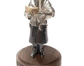 "Silver Statuette ""Kiddush Lebanon"""
