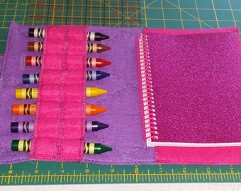 Travel Coloring Case With Handles