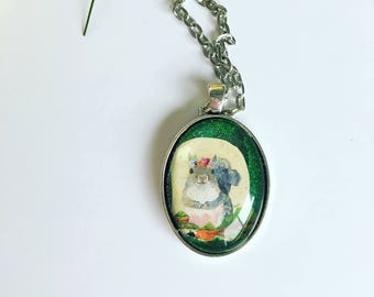 Lovely Squirrel Necklace