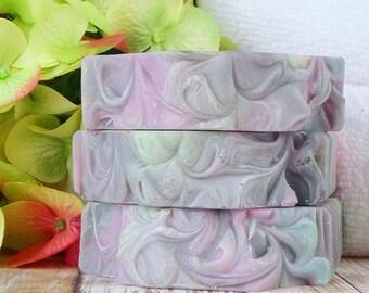 Unisex Soap - Coconut Milk Soap - Spring Soap - Palm Free Soap - Vegan Soap - Gift for Boyfriend - St Patricks Day Gift - Ecofriendly Soap