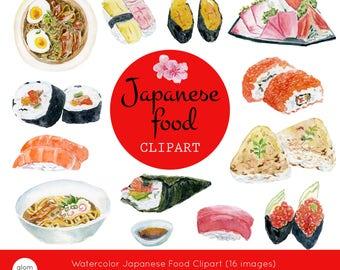 Sushi clip art | Etsy